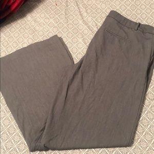 Gray dress pants